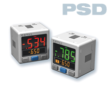 vacuostato con display a 3 colori PSD COVAL