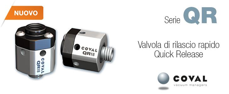 Valvola di rilascio rapido serie QR - COVAL